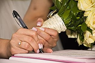 Starting the divorce process marital contract
